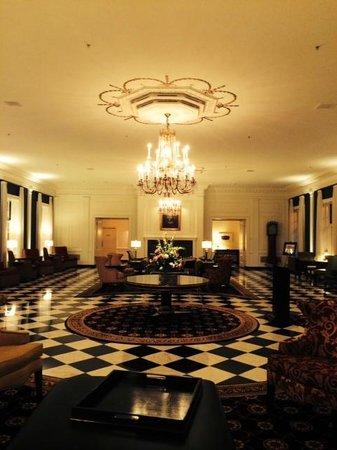 The Dearborn Inn, A Marriott Hotel : Lovely renovated lobby