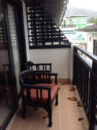 Patong Bay Garden Resort: balcony area