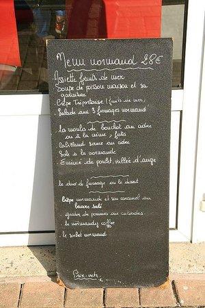 Grain d'Sel : Menu 28€