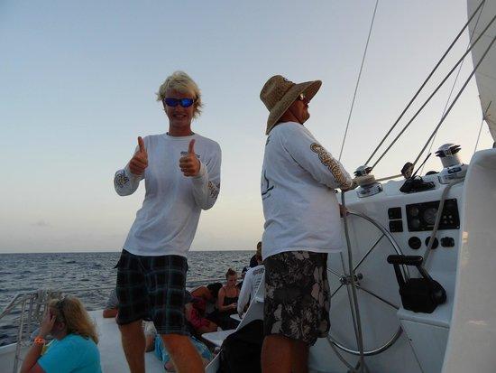 Cruise Ship Excursions: Alex & Captain Ryan