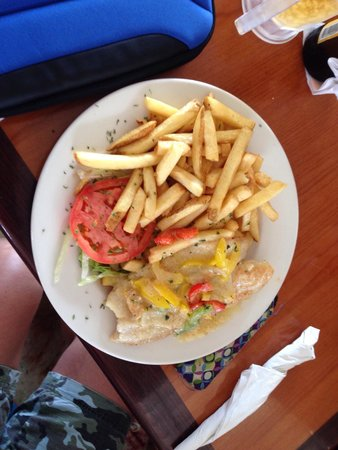 Costa Mia: Fresh grouper