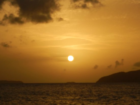 Cruise Ship Excursions: Another unbelievable view of the sunset