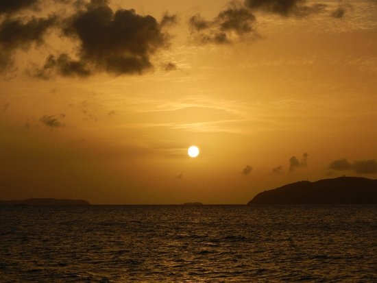 Cruise Ship Excursions: Breath-taking sunset
