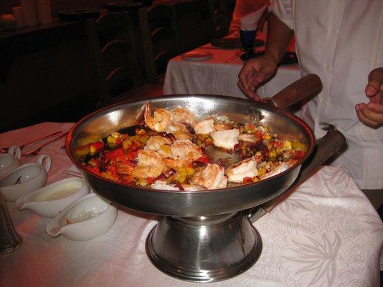 Fiesta Americana Condesa Cancun All Inclusive: Anniversary Meal