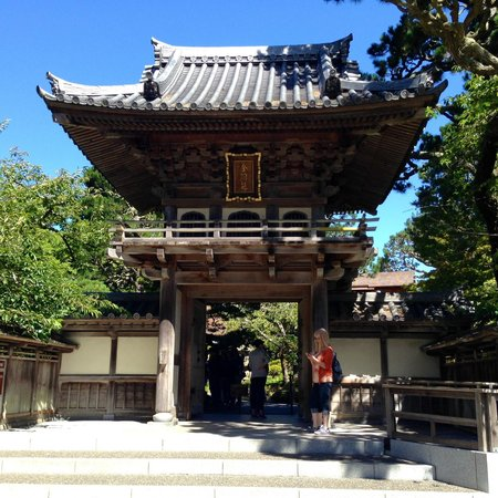 Japanese Tea Garden : Entrance to the garden