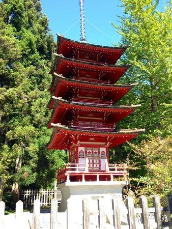 Japanese Tea Garden: Pagoda