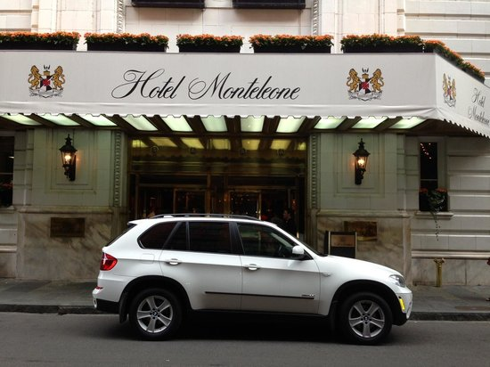 My car stalled in the front of Hotel Monteleone