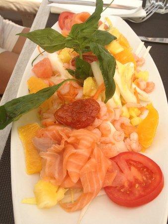 La Petite Plage: Salade fraîcheur