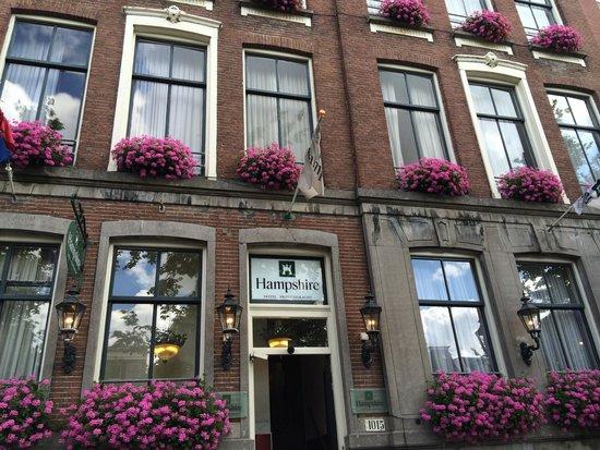 Prinsengracht Hotel: Hotel facade