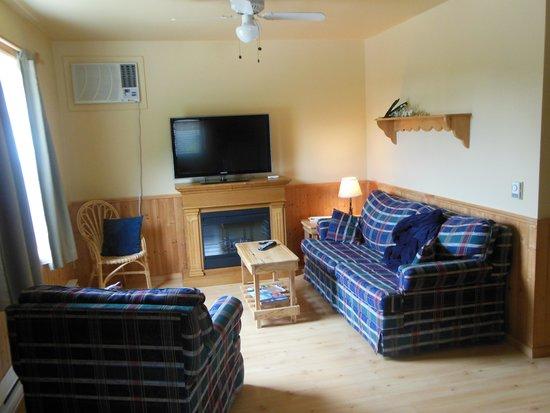 Middle Brook Cottages & Chalets : Comfy living room