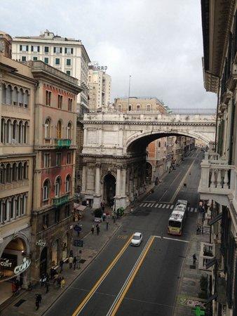Olympia Hotel Genova : vista stupenda