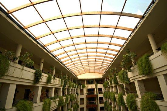 Puerto Antilla Grand Hotel: techo de cristal