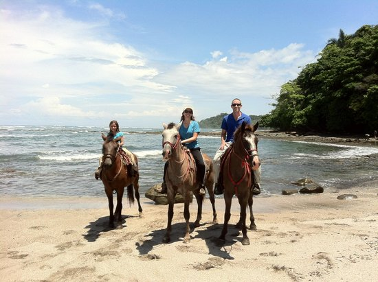 The Riding Adventure : beach ride