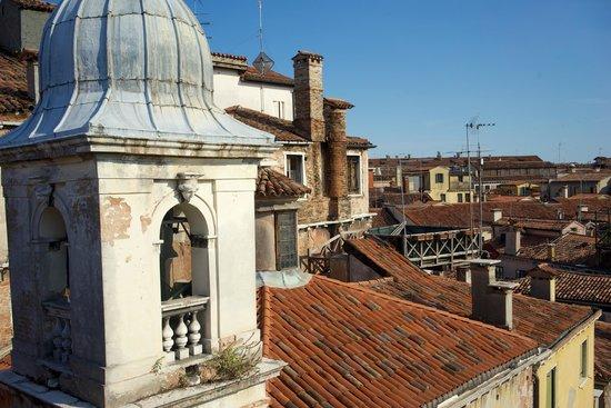 Starhotels Splendid Venice : Aussicht von der Terrasse