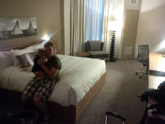 Grey Eagle Resort & Casino: Our King Room