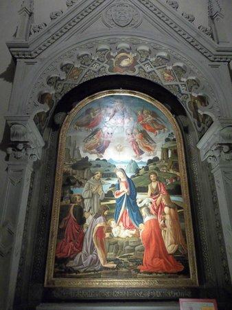 Convento di San Francesco: eines der wunderschönen Bilder in der Klosterkirche