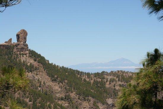 El Garanon : vistas del teide