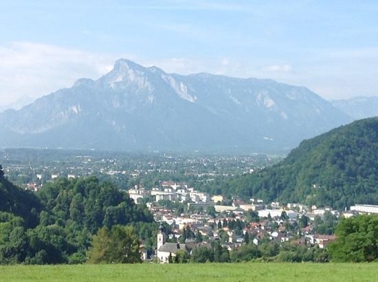 Schone Aussicht: desde el balcon