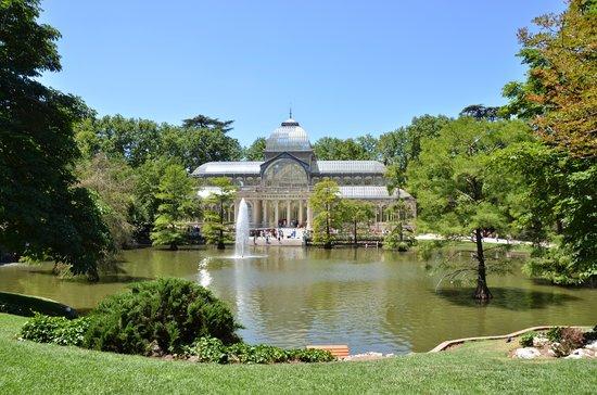 Parque del Retiro: palazzo di cristallo