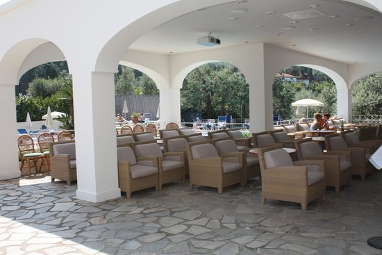Grand Hotel Aminta: Relaxing Seating