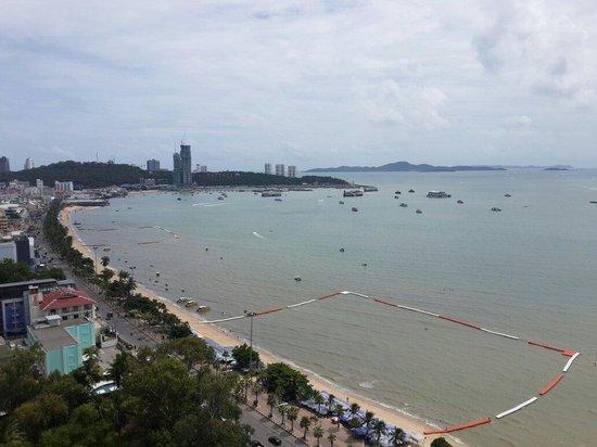 Hilton Pattaya: Sea view from room