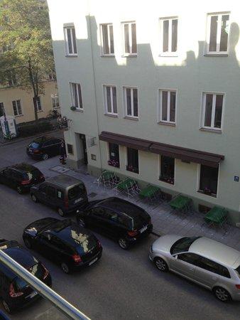 Hotel Konigswache : Вид из окна