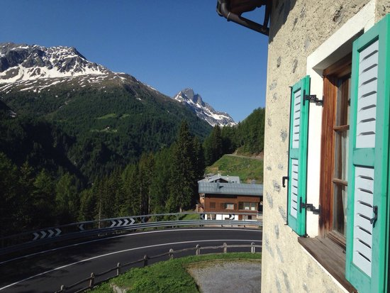 Hotel Li Arnoga: The view From my room window
