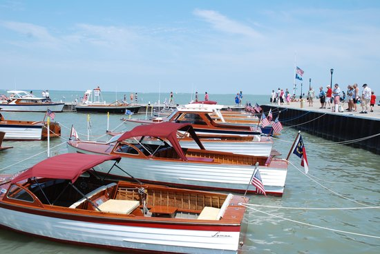 Hotel Lakeside: Wooden Boat show