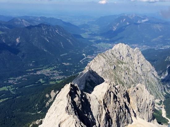 Zugspitze: amazing view
