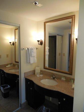 Homewood Suites by Hilton Montgomery: Vanity