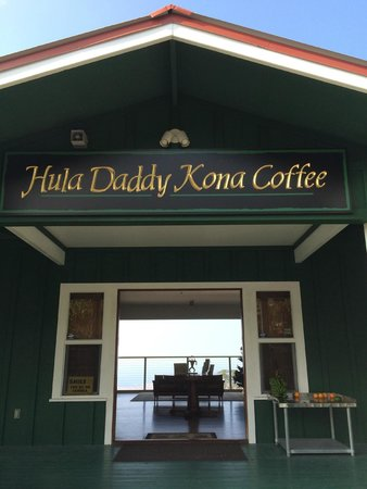 Hula Daddy Kona Coffee: Entrance