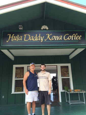 Hula Daddy Kona Coffee: We've arrived!
