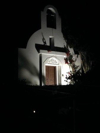 Sensimar Oceanis Beach & Spa Resort: Chapel at night