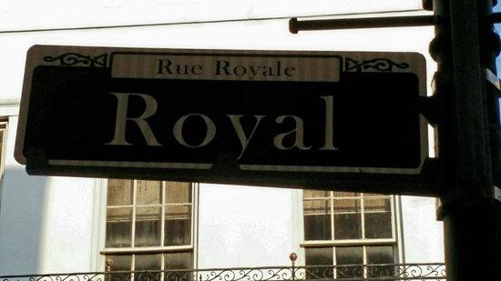Royal Street: Royal.