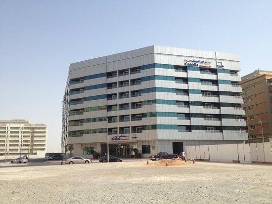 Cassells Al Barsha Hotel : Вид отеля