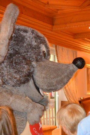 Cavallino Bianco Family Spa Grand Hotel: Lino-La mascotte dell'hotel