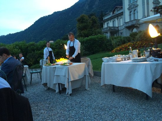 Grand Hotel Imperiale: Dinner and a show