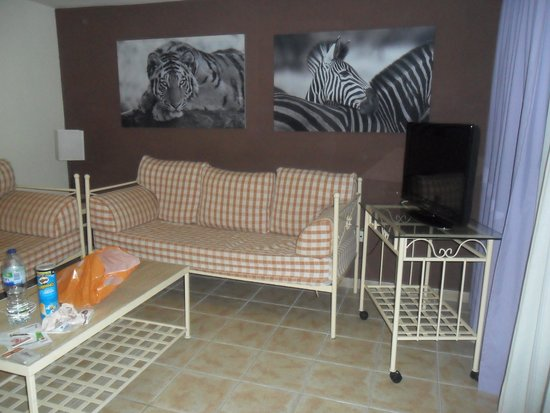 Parque de las Americas: Living area