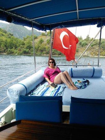 Marmaris Marina: relaxing on gulet