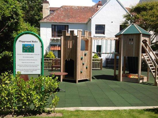 St. Brelades Bay Hotel: Children's play area
