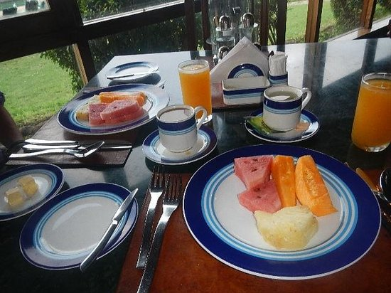 Lake Manyara Wildlife Lodge: Breakfast