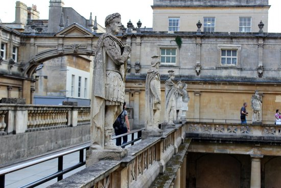 The Roman Baths: Outside at the bath