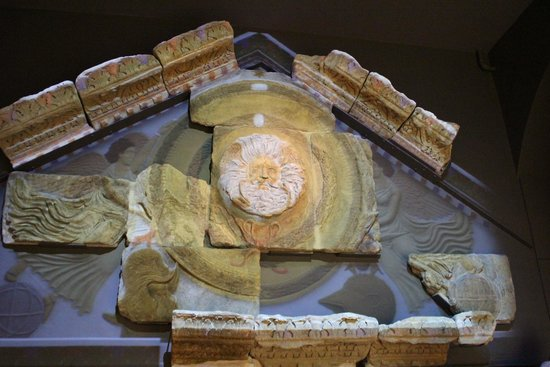 The Roman Baths: Inside