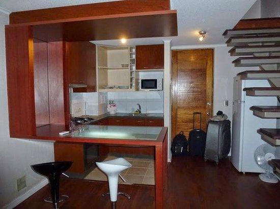 Museo De Artes Apartments: Cocina comedor