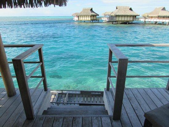InterContinental Moorea Resort & Spa : the lagoon