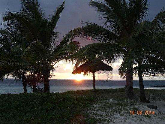 LUX* Belle Mare: Sunrise on Belle Mare Beach