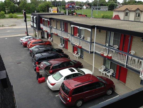 Kings Inn Near The Falls: Blick vom Zimmer aus