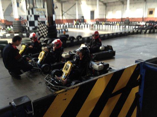 West Coast Indoor Karting: rev up!