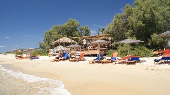 "Medusa Resort : beach with ""blue bay bar"""