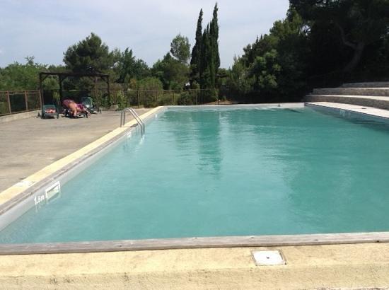 Camping de la Commanderie : la piscine